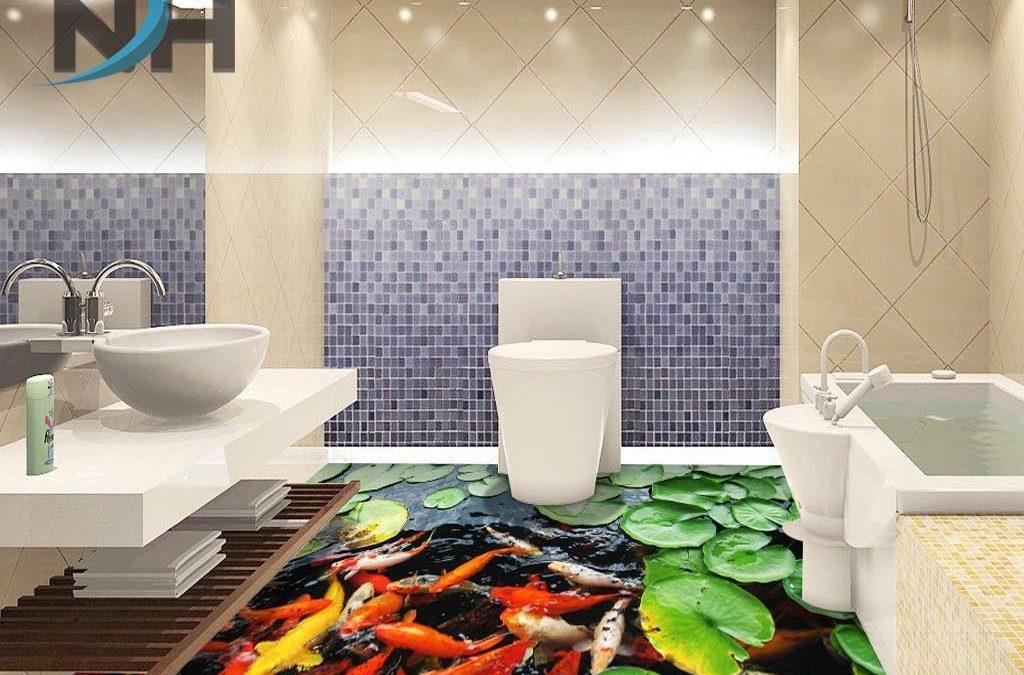 Phòng tắm hẹp nên trang trí như thế nào phù hợp