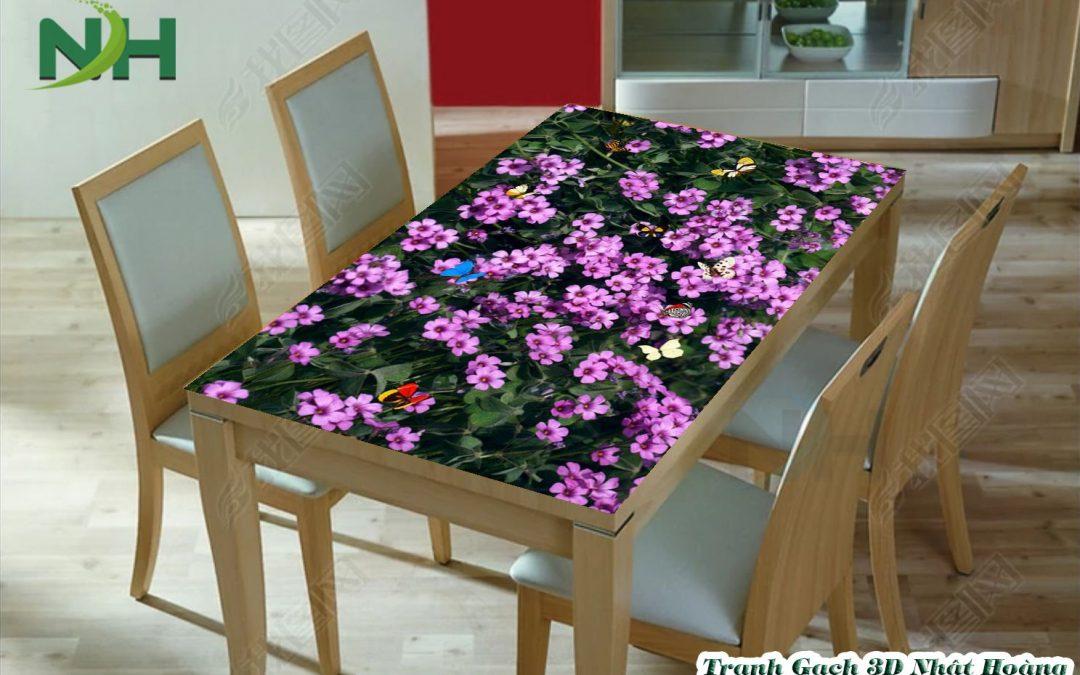 Hé lộ 4 mẫu tranh bàn ăn 3D đẹp mê mẩn nên dùng trong phòng bếp